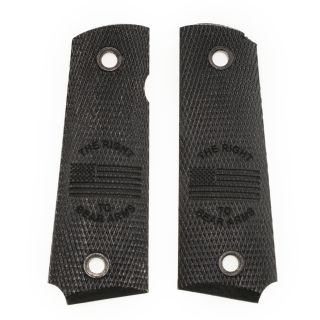 1911 Laser Engraved Grip - The Right to Bear Arms - Black