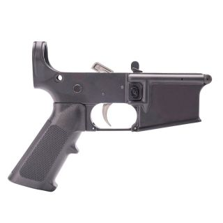 Anderson AM-15 Assembled Lower - Open Trigger - Choose Your Engraving - Anodized Black