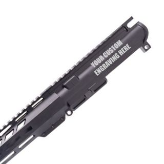 Anderson Upper Assembly - M-LOK - 5.56 NATO - Custom Engraved