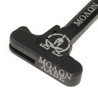 AR-10 Charging Handle - Molon Labe - Anodized Black