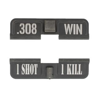 AR-10 Dust Cover - .308 WIN - 1 Shot 1 Kill - Phosphate Black