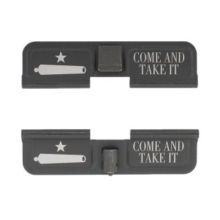 AR-10 Dust Cover - Come and Take it - Double Image - Phosphate Black