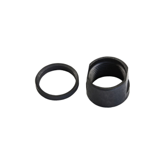AR-10 Steel Thread Protector 58 x 24 TPI with Crush Washer - Black