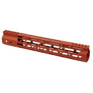 AR-15 Mod Lite Skeletonized M-LOK Free Float Handguard - Cerakote Orange