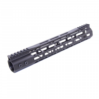 AR-15 Mod Lite Skeletonized M-LOK Free Float Handguard - Anodized Black