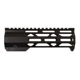 AR-15 10 Mod Lite Skeletonized M-LOK Free Float Handguard - Anodized Black