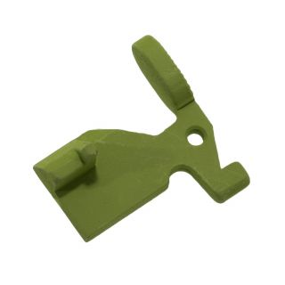 AR-15 Bolt Catch - Blank - Cerakote Zombie Green