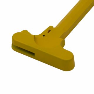 AR-15 Charging Handle - Blank - Cerakote Sunflower Yellow