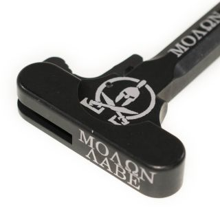 AR-15 Charging Handle - Molon Labe - Anodized Black