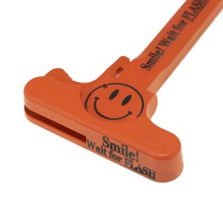AR-15 Charging Handle - SMILE! - Cerakote Orange