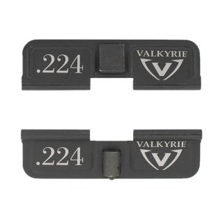 AR-15 Dust Cover - 224 Valkyrie - Double Image - Phosphate Black