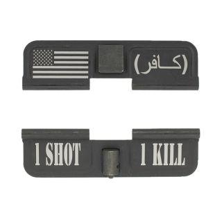 AR-15 Dust Cover - American Infidel 1S1K - Phosphate Black