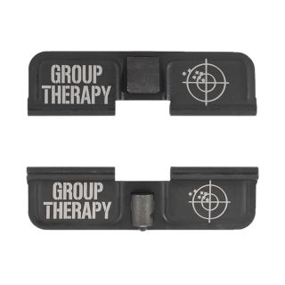 AR-15 Dust Cover - Group Therapy - Double Image - Phosphate Black