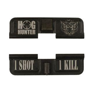 AR-15 Dust Cover - Hog Hunter - Phosphate Black - 1 Shot 1 Kill