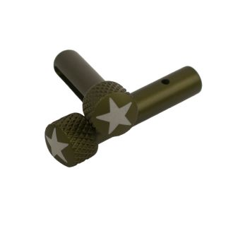 AR-15 Extended Takedown Pins - American Star - Olive Drab Green
