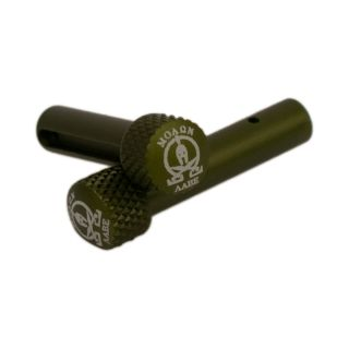 AR-15 Extended Takedown Pins - Molon Labe - Anodized Olive Drab Green
