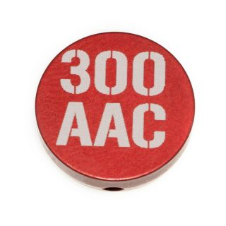 Forward Assist Cap - 300 AAC - Anodized Red