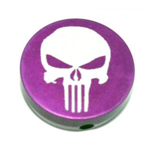 Forward Assist Cap - Punisher Skull - Anodized Purple