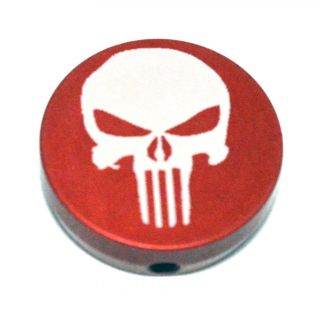 Forward Assist Cap - Punisher Skull - Anodized Red