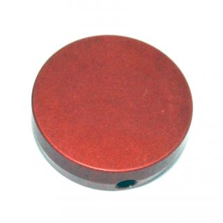 Forward Assist Cap - Custom Laser Engraved - Anodized Red
