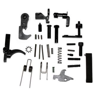 AR-15 Lower Component Parts Kit (Minus Pistol Grip) - Black