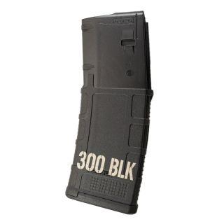 AR-15 PMAG MOE - 300 BLK - Black (30 Round)