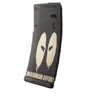 AR-15 PMAG MOE - Deadpool Maximum Effort - Black (30 Round)