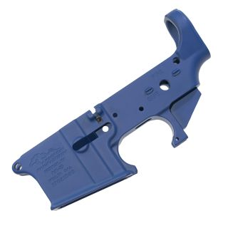 Anderson AR-15 Stripped Lower Receiver - (FFL Required) - Cerakote Blue
