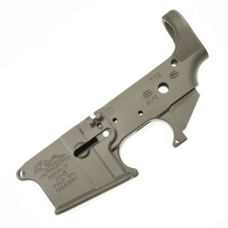 Anderson AR-15 Stripped Lower Receiver - (FFL Required) - Cerakote Olive Drab Green