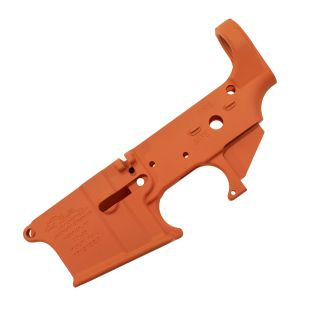 Anderson AR-15 Stripped Lower Receiver - (FFL Required) - Cerakote Orange
