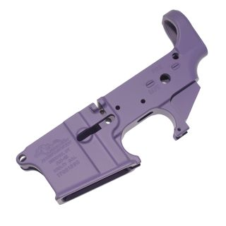 Anderson AR-15 Stripped Lower Receiver - (FFL Required) - Cerakote Purple