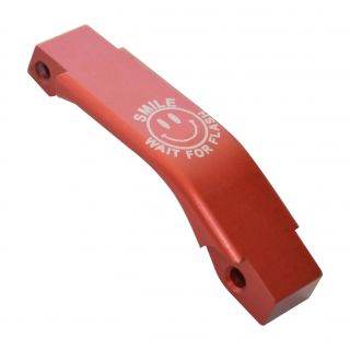 Enhanced Trigger Guard - SMILE! - Anodized Red