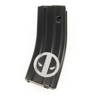 AR-15/M16 .223-5.56 Magazine - Deadpool - Black (30 Round)