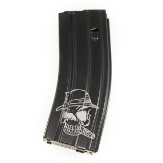 AR-15/M16 .223-5.56 Magazine - The Mechanic - Black (30 Round)