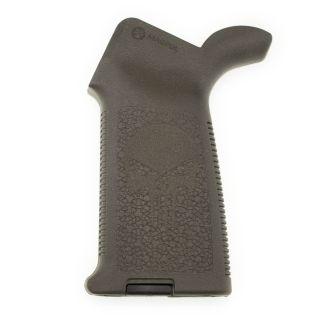 AR-15/M4 Magpul MOE Grip - Punisher Skull - Olive Drab Green