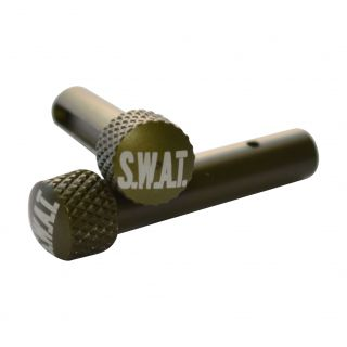 AR-15 Extended Takedown Pins - SWAT - Anodized Olive Drab Green