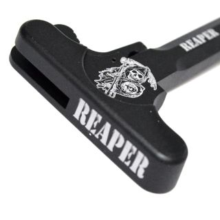 AR-15 Charging Handle - Grim Reaper - Anodized Black