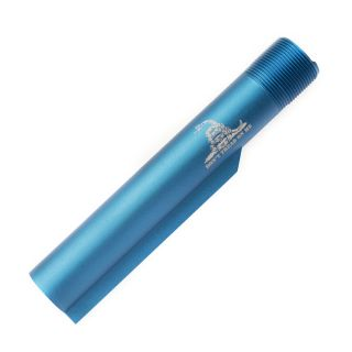 Buffer Tube - Don't Tread On Me - Anodized Blue