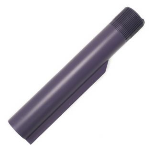Buffer Tube - Custom Engraved - Cerakote Purple