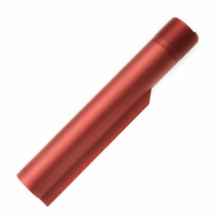 Buffer Tube - Blank - Anodized Red
