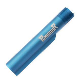 Buffer Tube - The Punisher - Anodized Blue