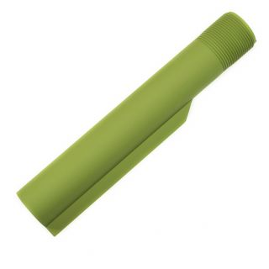 Buffer Tube - Blank - Cerakote Zombie Green