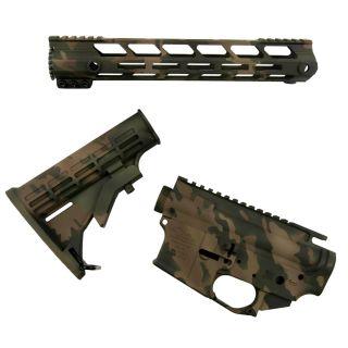 AR-15 Builder Set - Commando Camouflage - (FFL Required)
