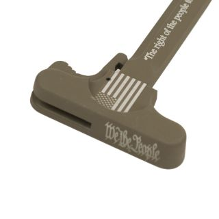 AR-15 Charging Handle - We The People - Cerakote Flat Dark Earth