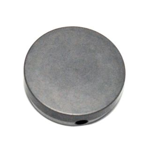 Forward Assist Cap - Custom Laser Engraved - Anodized Gray