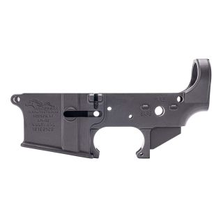 Anderson AR-15 Stripped Lower Receiver - Choose your Engraving (FFL Required) - Anodized Black