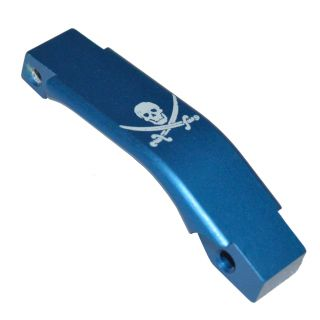 Enhanced Trigger Guard - Jolly Roger-Blue