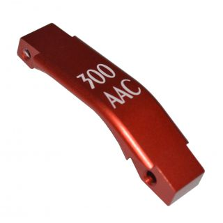Enhanced Trigger Guard - 300 AAC - Anodized Red