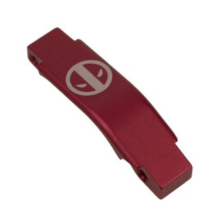 Enhanced Trigger Guard - Deadpool - Anodized Red
