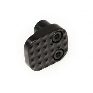 Extended Magazine Release - Blank - Anodized Black